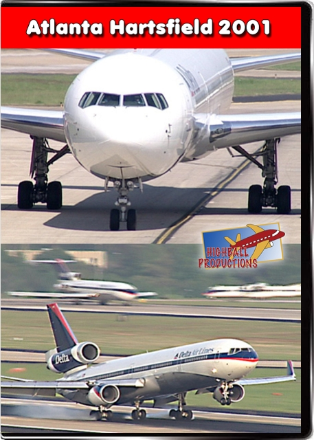 Atlanta Hartsfield International 2001 DVD Train Video Highball Productions ATL