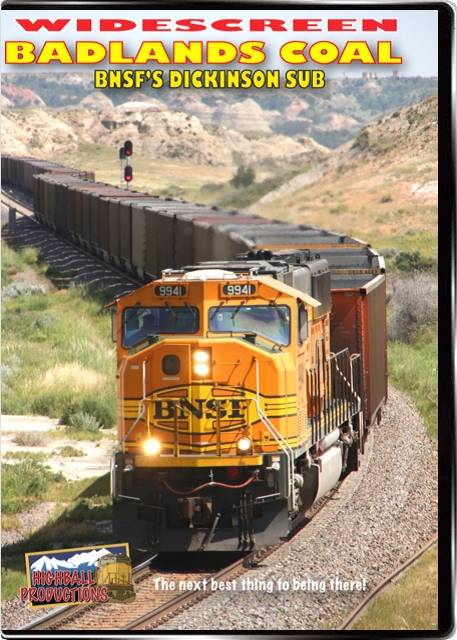 Badlands Coal - The BNSF Dickinson Sub DVD Train Video Highball Productions BADW