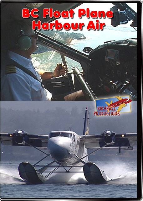 BC Floatplane - Harbour Air DVD Train Video Highball Productions BCFL 181729000066