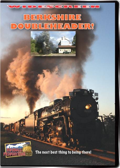 Berkshire Doubleheader! Nickel Plate 765 and Pere Marquette 1225 DVD Train Video Highball Productions BERK