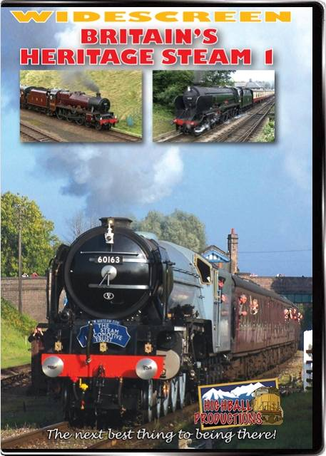 Britains Heritage Steam Volume 1 DVD Highball Productions BHS1W