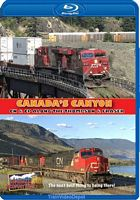 Canadas Canyon - Canadian National and Canadian Pacific along the Thompson and Fraser Rivers BLU-RAY