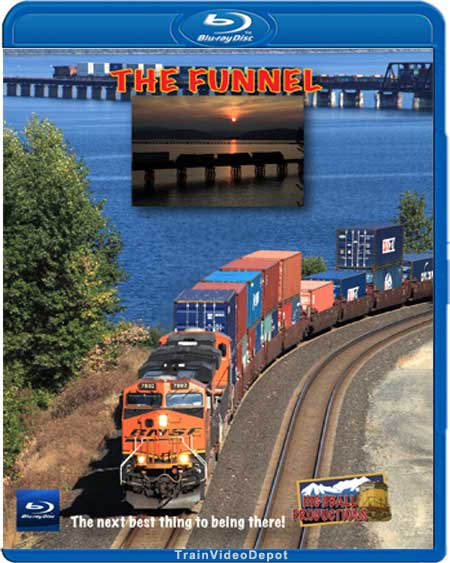 The Funnel - BNSF Spokane Sub BLU-RAY