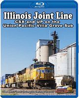 Illinois Joint Line CSX & UP on the UP Villa Grove Sub BLU-RAY