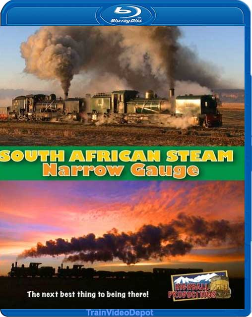 South African Steam - Narrow Gauge BLU-RAY Highball Productions BRSANG 181729001353