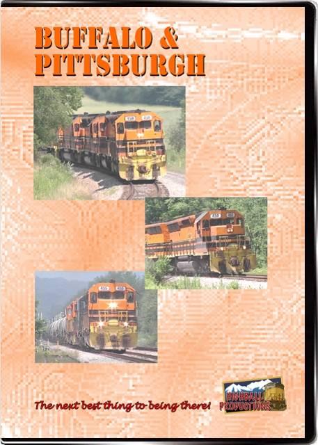 Buffalo & Pittsburgh DVD Train Video Highball Productions BUFF-DVD