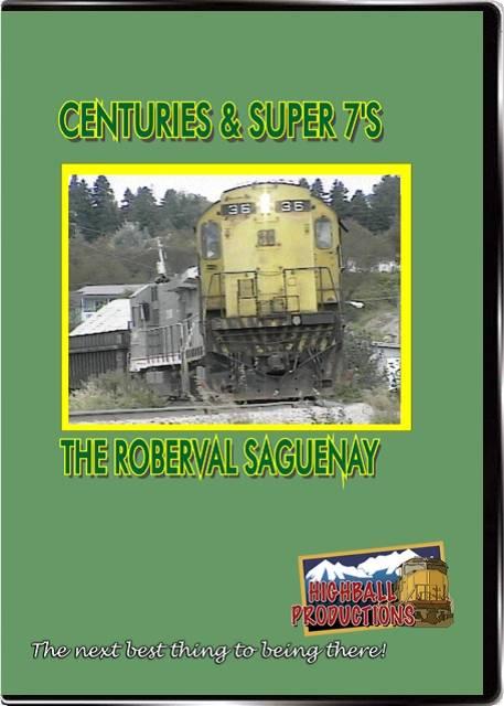 Centuries & Super 7s  the Roberval Saguenay DVD Highball Productions CAS7-DVD