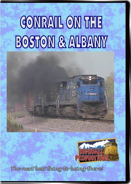 Conrail On the B&A DVD Highball Productions COBA-DVD
