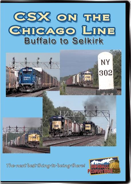 CSX on the Chicago Line DVD Highball Productions COCL
