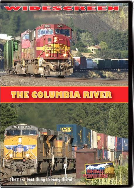 Columbia River - BNSF and Union Pacific DVD Highball Productions COLW 181729001247