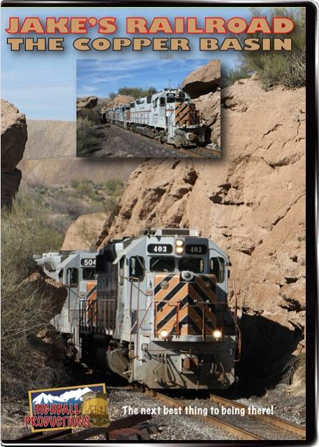 Jakes Railroad - The Copper Basin DVD Train Video Highball Productions COPR
