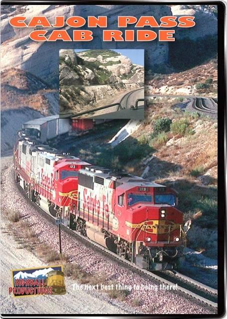Cajon Pass Cab Ride DVD Train Video Highball Productions CPCR