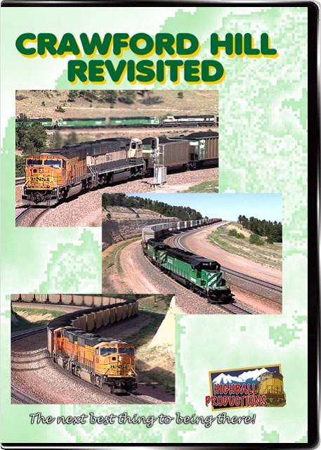 Crawford Hill Revisited - BNSF DVD Highball Productions CRAW