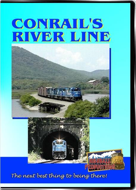 Conrails River Line DVD Train Video Highball Productions CRRL-DVD