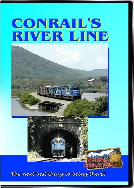 Conrails River Line DVD Highball Productions CRRL-DVD