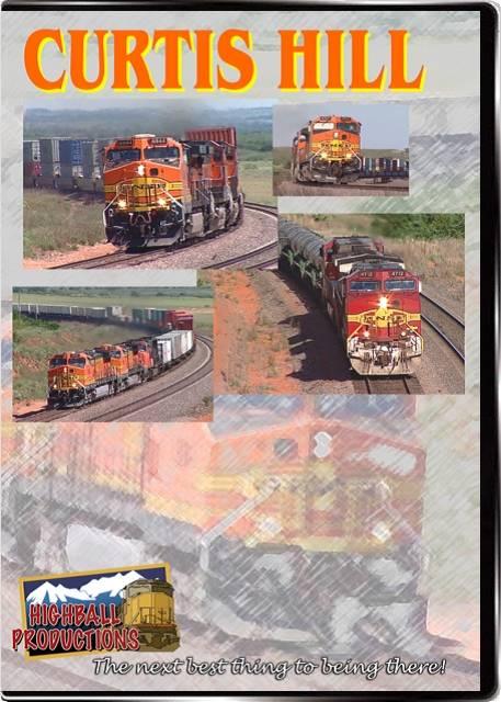 Curtis Hill - BNSF DVD Train Video Highball Productions CURT-DVD