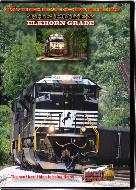 The Pokey - Elkhorn Grade - The Norfolk Southern Pocohontas Division DVD Highball Productions ELKW 181729001940