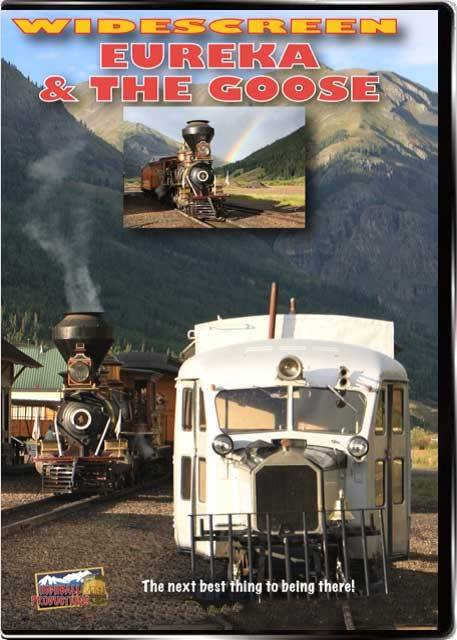 Eureka & the Goose - Durango and Silverton Scenic Railroad - 2-Disc Set DVD or Blu-ray DVD Train Video Highball Productions EUTG