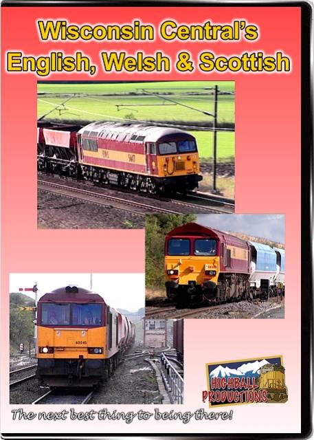 Wisconsin Centrals English  Welsh & Scottish DVD Train Video Highball Productions EWS