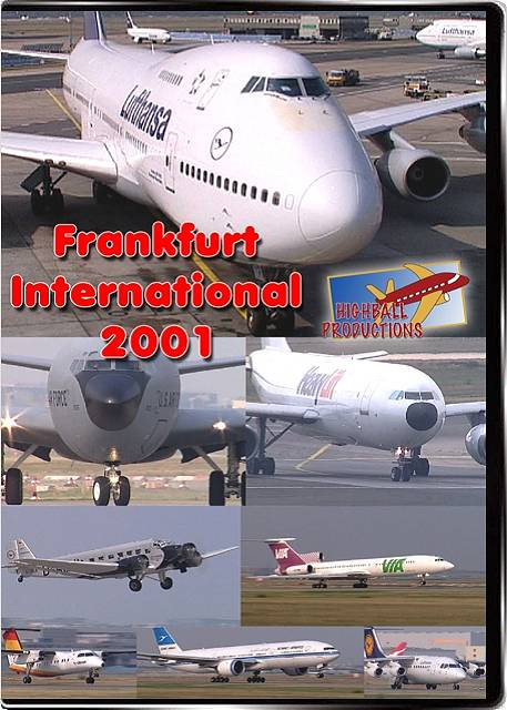 Frankfurt 2001 DVD Train Video Highball Productions FRA