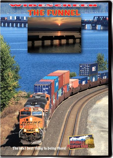 The Funnel - The BNSF Spokane Sub DVD Train Video Highball Productions FUNLW 181729002213