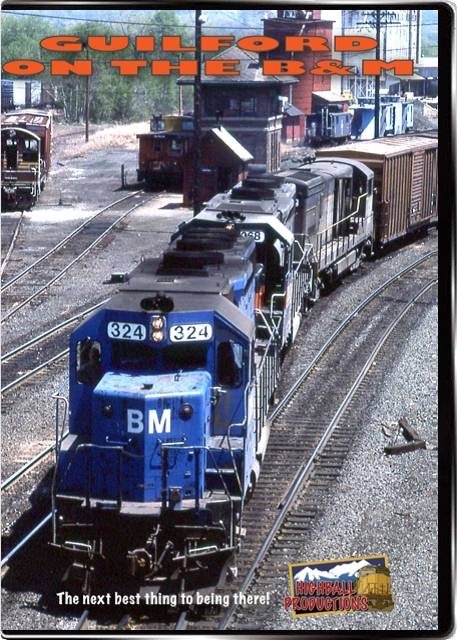 Guilford On the B&M DVD Train Video Highball Productions GBAM 181729001551