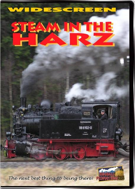 Steam In the Harz - German Narrow Gauge DVD Train Video Highball Productions HARZ