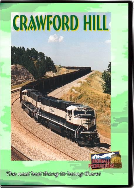 Crawford Hill - Burlington Northern DVD Train Video Highball Productions HBCH