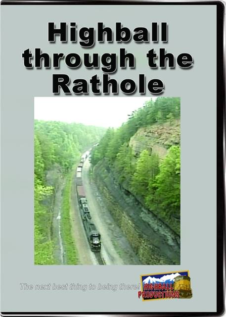 Highball Through the Rathole - Norfolk Southern on the CNO&TP DVD Highball Productions HBRH-DVD