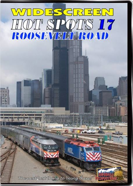 Hot Spots 17 Roosevelt Road - Commuter action n Chicago DVD Highball Productions HOT17