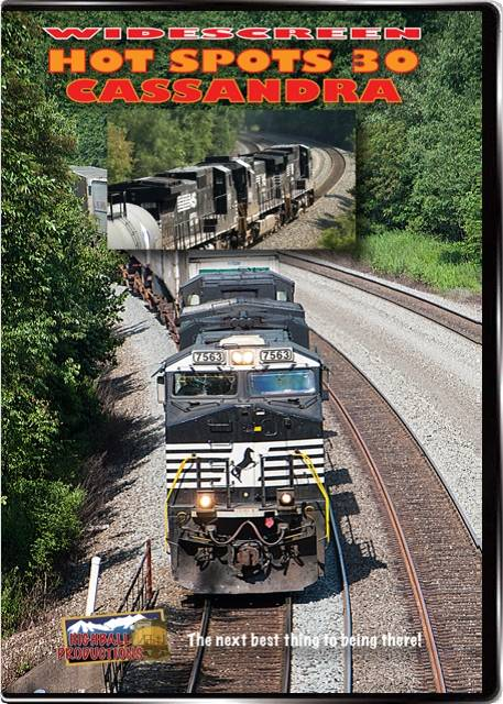 Hot Spots 30 Cassandra Pennsylvania - Norfolk Southern on the busy Pittsburgh Line DVD Highball Productions HOT30 181729002275