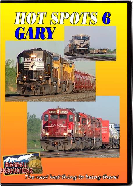 Hot Spots 6 Gary Indiana - CSX Norfolk Southern and the EJ&E come toegther here DVD Highball Productions HOT6