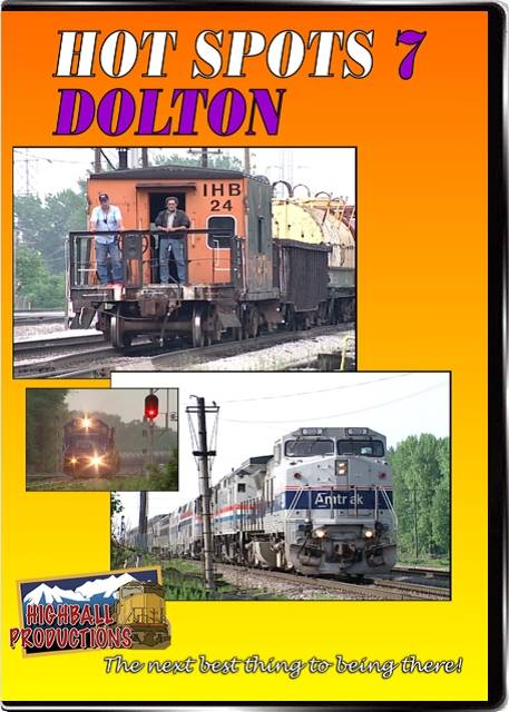 Hot Spots 7 Dolton Illinois - CSX and Union Pacific cross the Indiana Harbor Belt DVD Train Video Highball Productions HOT7