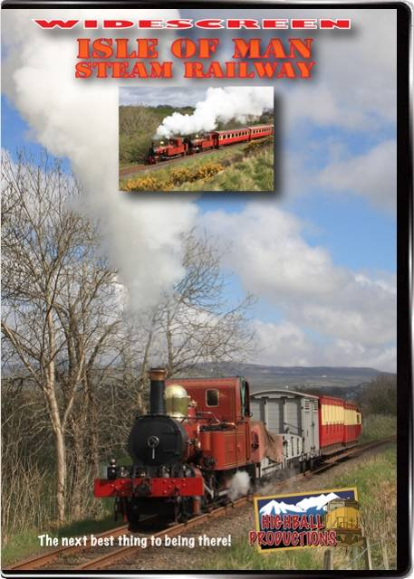 Isle of Man Steam Railway DVD Train Video Highball Productions IOMW 181729002180