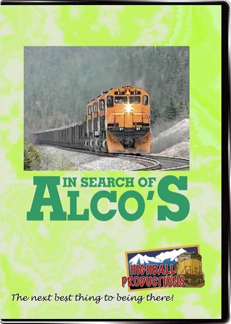 In Search Of ALCOs DVD Highball Productions ISOA-DVD