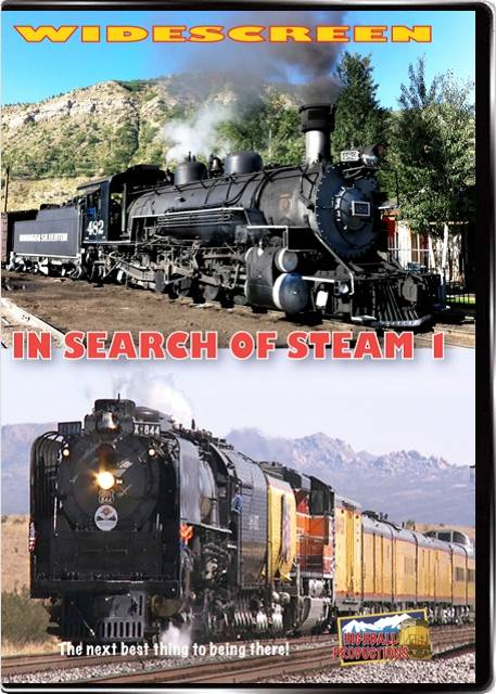 In Search Of Steam Volume 1 DVD Highball Productions ISST 181729001926