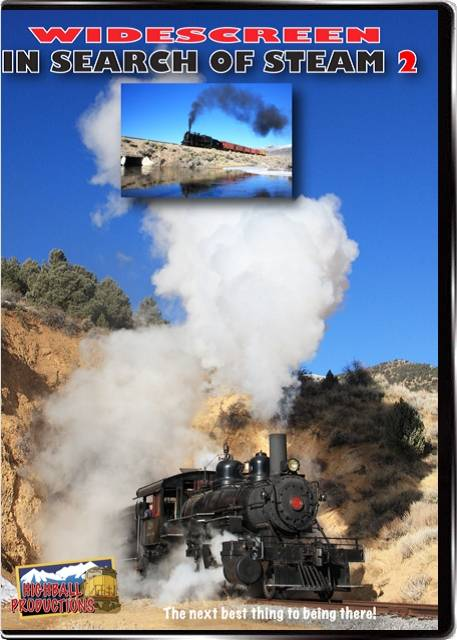 In Search Of Steam Volume 2 DVD Train Video Highball Productions IST2 181729002145