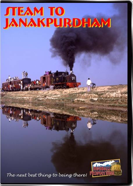 Steam To Janakpurdham - Narrow Gauge in India DVD Highball Productions JANA-DVD 181729000172