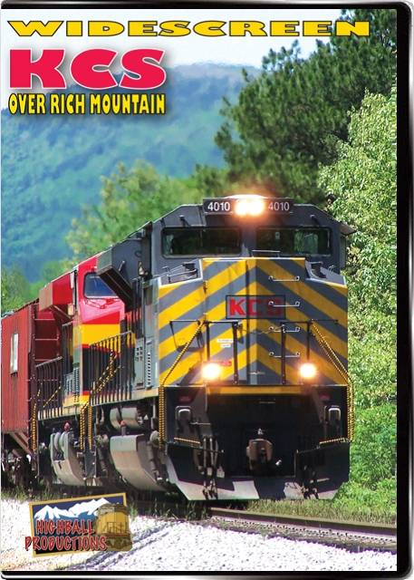 KCS Over Rich Mountain - Kansas City Southern DVD Train Video Highball Productions KRMW