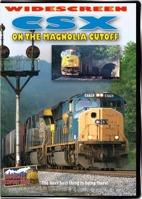 CSX on the Magnolia Cutoff DVD Train Video Highball Productions MAGW