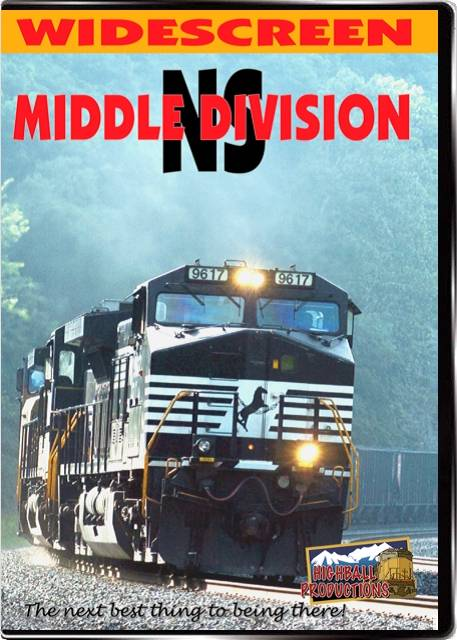 NS  The Middle Division - Norfolk Southern Enola to Altoona DVD Highball Productions MDLEW