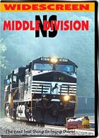 NS  The Middle Division - Norfolk Southern Enola to Altoona DVD