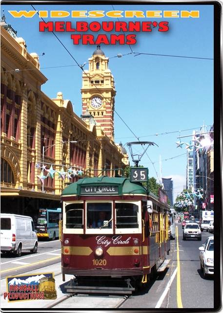 Melbournes Trams DVD Highball Productions MELBW