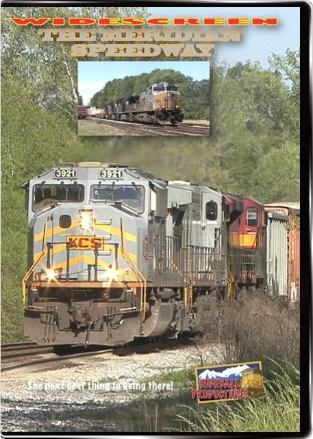 Meridian Speedway - Kansas City Southern DVD Highball Productions MERW 181729001605