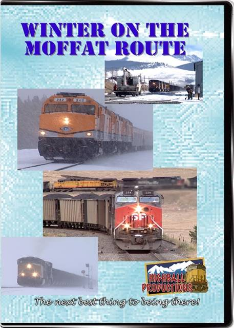 Winter on the Moffat Route - Union Pacific on former Rio Grande rails DVD Highball Productions MOFF-DVD