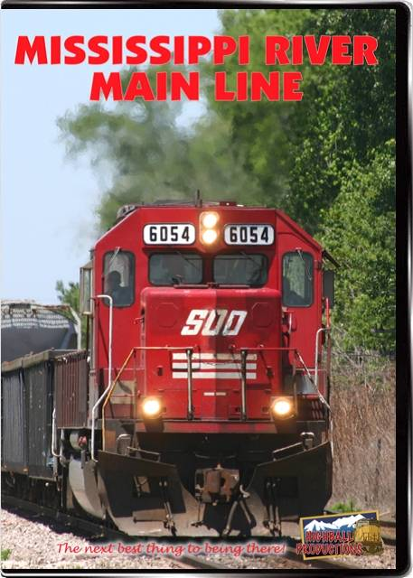 Mississippi River Main Line - Canadian Pacific DVD Train Video Highball Productions MRMLHBP-DVD