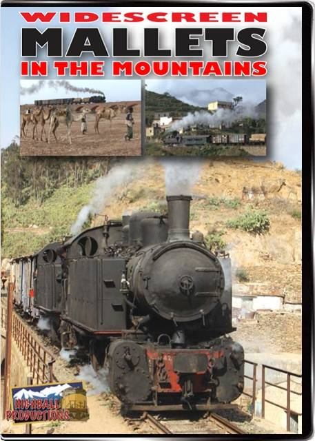 Mallets In the Mountains - Italian built steam in Eritrea DVD Highball Productions MTMW