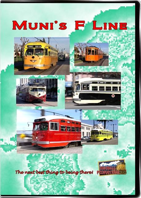 Munis F Line - San Francisco DVD Train Video Highball Productions MUNI-DVD
