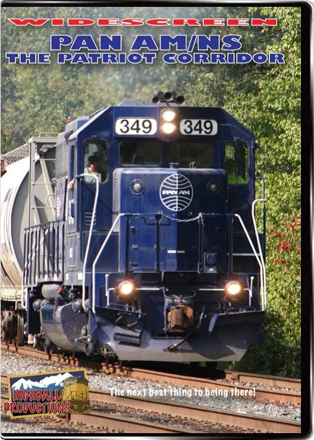 Pan Am-Norfolk Southern - The Patriot Corridor DVD Highball Productions PANW 181729001414