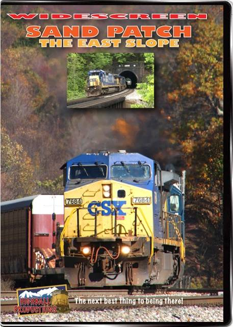 Sand Patch The East Slope - CSX DVD Highball Productions PATW 181729001797